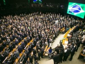 Administradora da FASA participa de posse na Câmara Federal