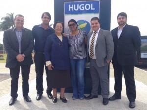 HUAna participa da inauguração do Hugol