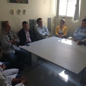 Conselho Municipal de Saúde e Conselho Estadual de Saúde realizaram vista técnica no HUAna