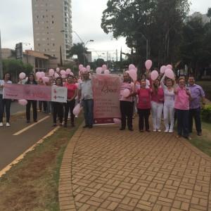 Outubro Rosa: Hospital de Urgências e Santa Casa realizaram hoje ações de conscientização