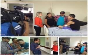 Emoção: HUAna promove encontro entre paciente e familiares que perderam o contato há 28 anos