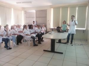 Colaboradores do HUAna recebem capacitação sobre a cultura de segurança do paciente