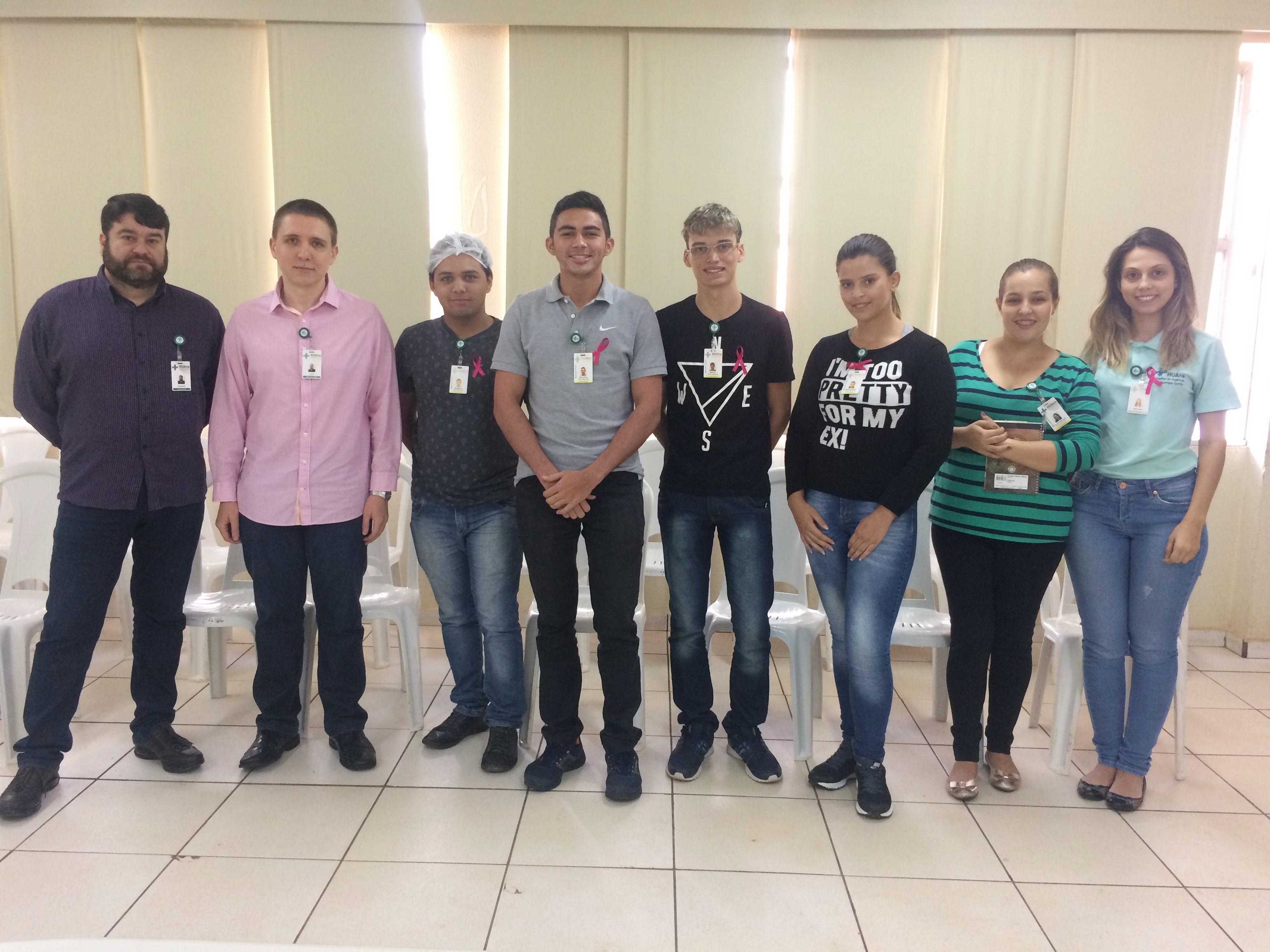 HUAna realiza reunião com jovens do programa Jovem Aprendiz