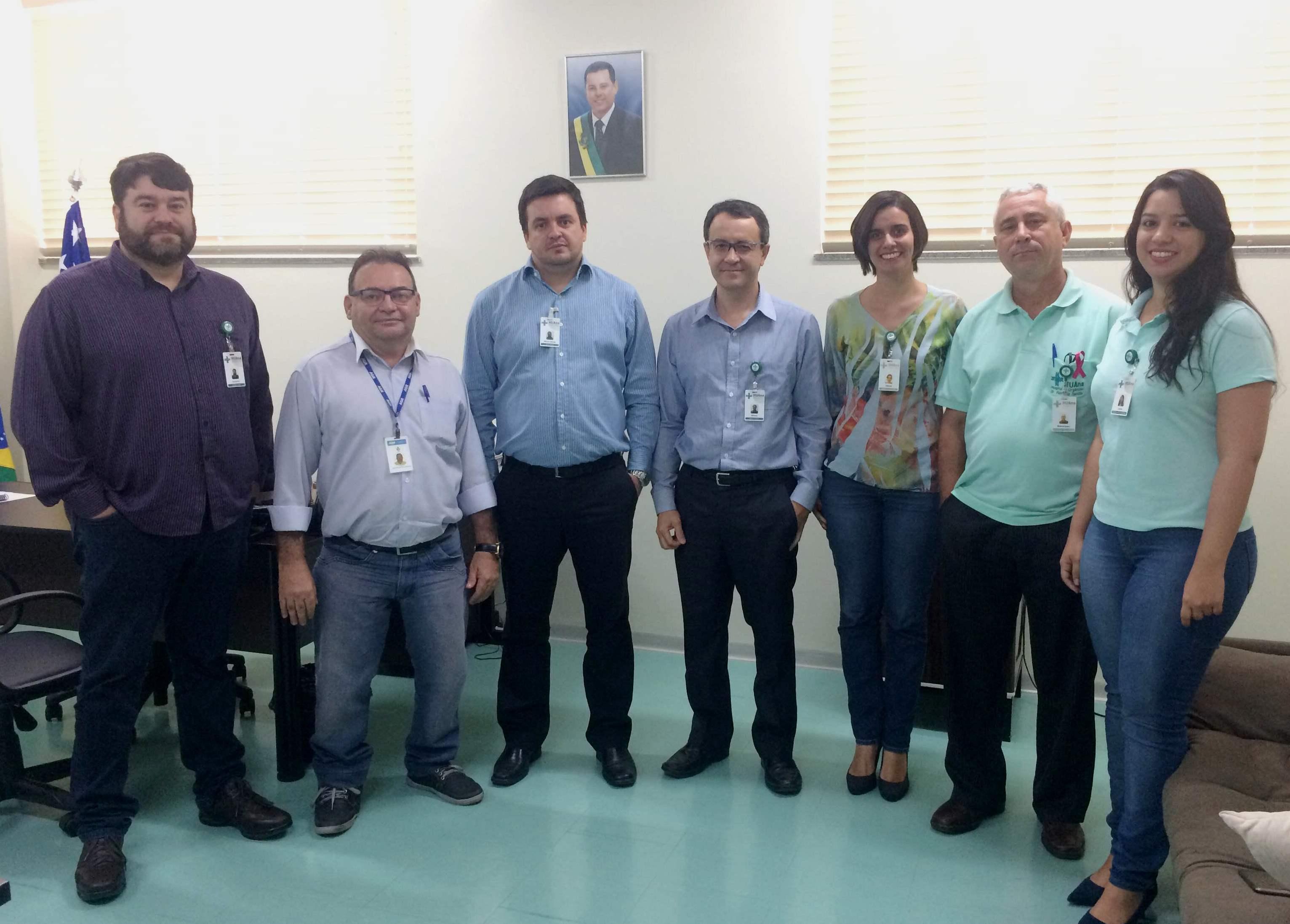 Representantes do HUAna e da AGR se reúnem para discutir Sistema de Indicadores de Qualidade e Desempenho