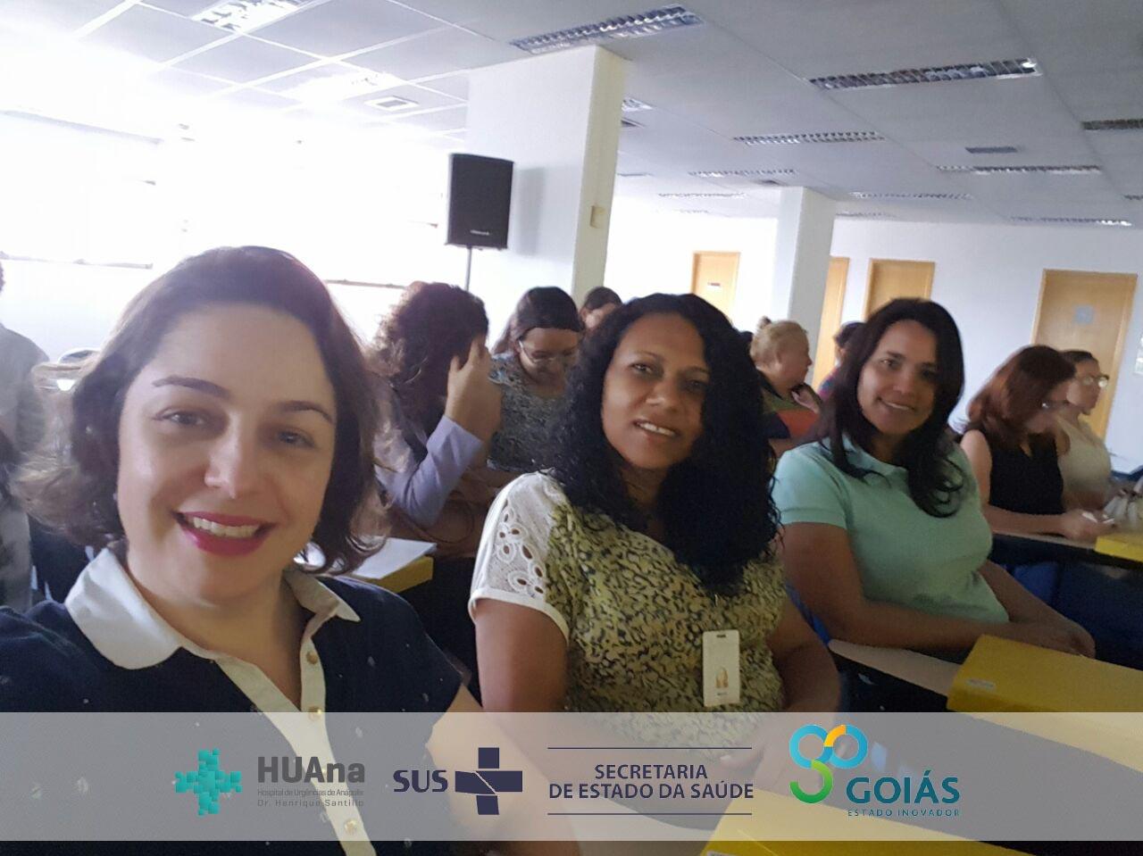 Equipe do HUAna participa de encontro de Ouvidorias do Centro-Oeste