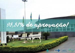 Satisfação dos usuários do HUAna tem média de 98,81% de aprovação