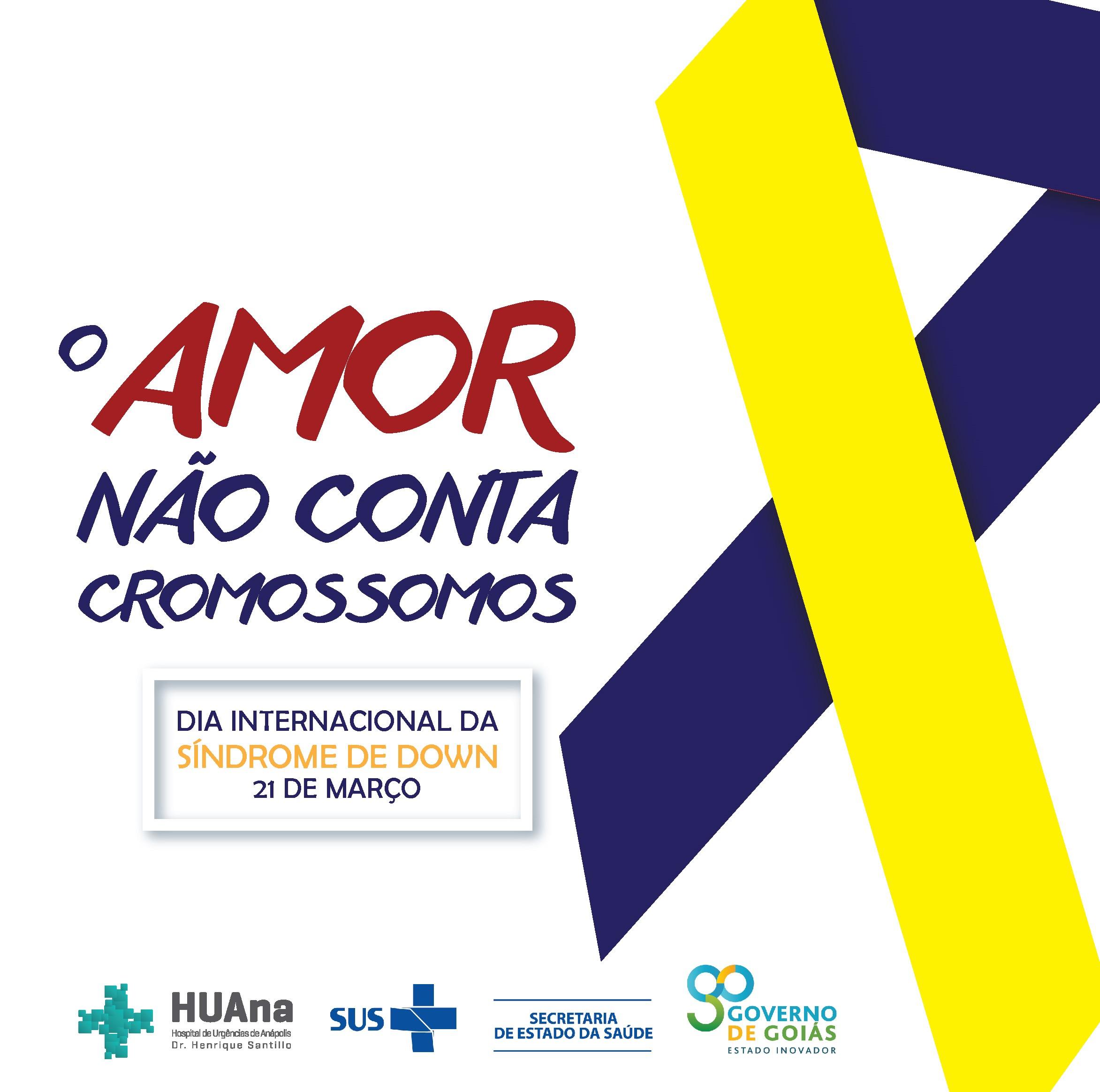 21 de março – Dia Internacional da Síndrome de Down ❤️