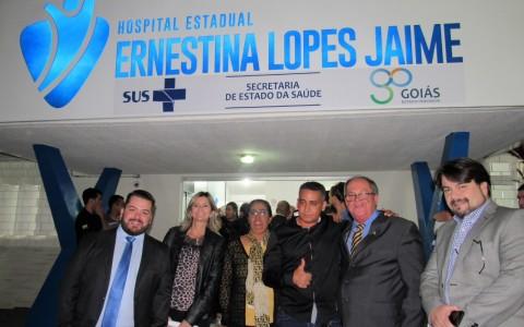 HUAna e Santa Casa de Misericórdia de Anápolis participam de inauguração do Centro Cirúrgico do HEELJ, em Pirenópolis.