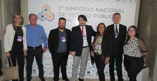 Gestores do HUANA participam de Simpósio sobre Gestão Pública e Privada