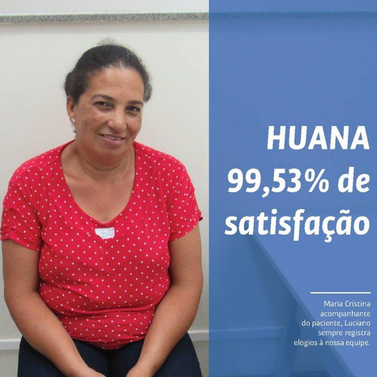 Pesquisa aponta 99% de satisfação dos usuários do HUANA