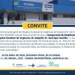 CONVITE HUANA