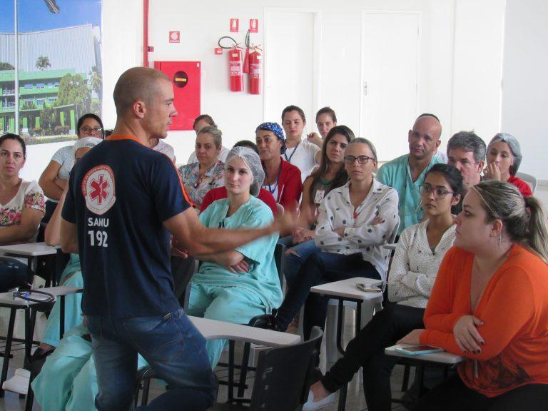 HUANA realiza treinamento de Primeiros Socorros para os colaboradores